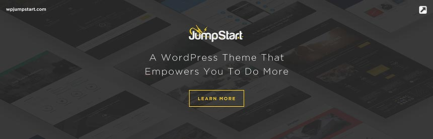 Jump Start WordPress Theme